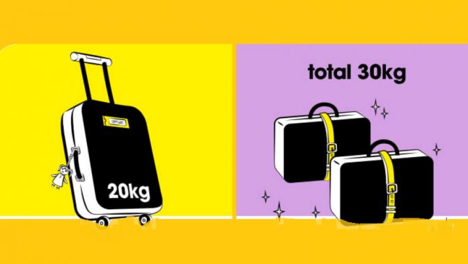 Quy định về hành lý của Scoot