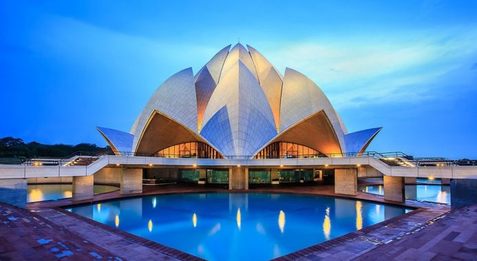Đền hoa sen Delhi