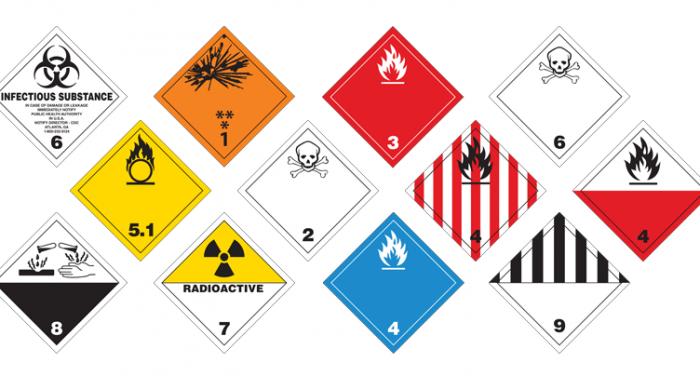 Các loại hàng hóa nguy hiểm