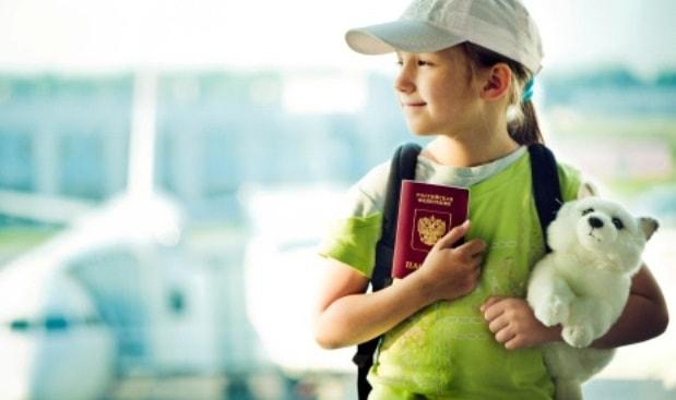 Quy định bay đối với trẻ em