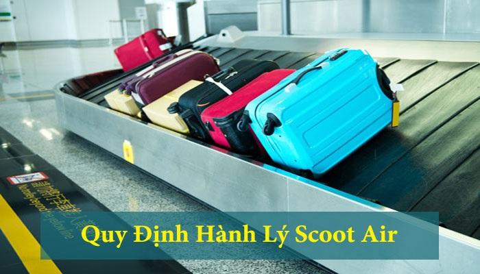 Hành lý ký gửi Scoot Air không quá 40kg