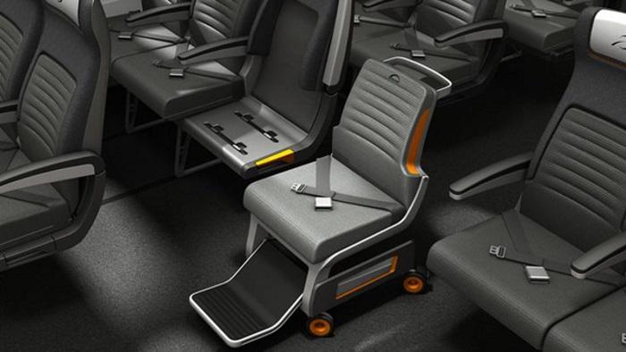 Hỗ trợ xe lăn đặc biệt trên máy bay