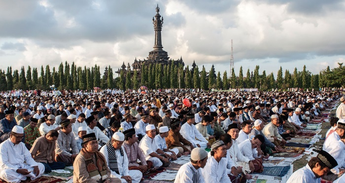 Lễ hội Ramadan- rửa tội của người Indonesia