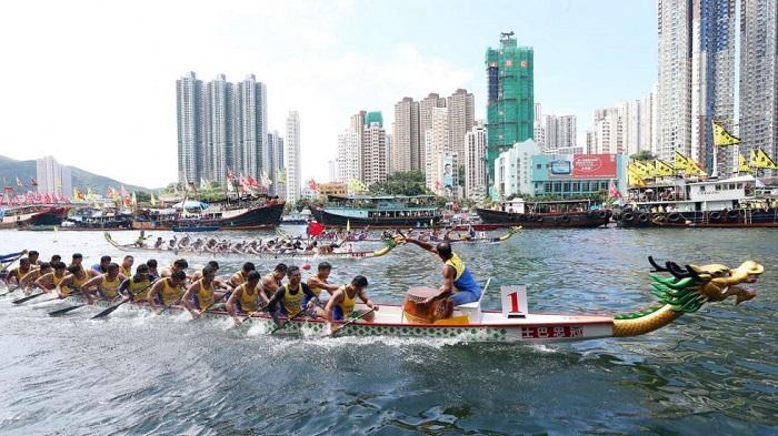 Lễ hội thuyền rồng mang đậm chất Châu Á