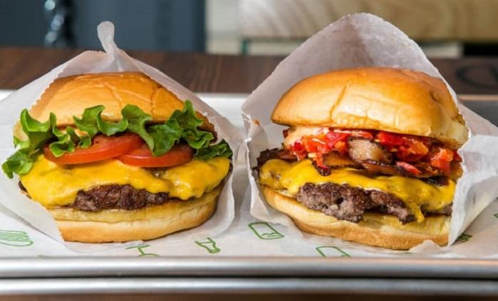 Hamburger là món ăn đặc trưng tại thành phố này