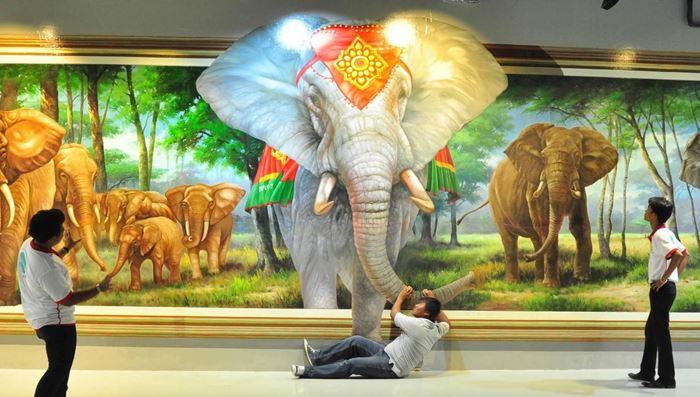 Bảo tàng đánh lừa thị giác Art in Paradise