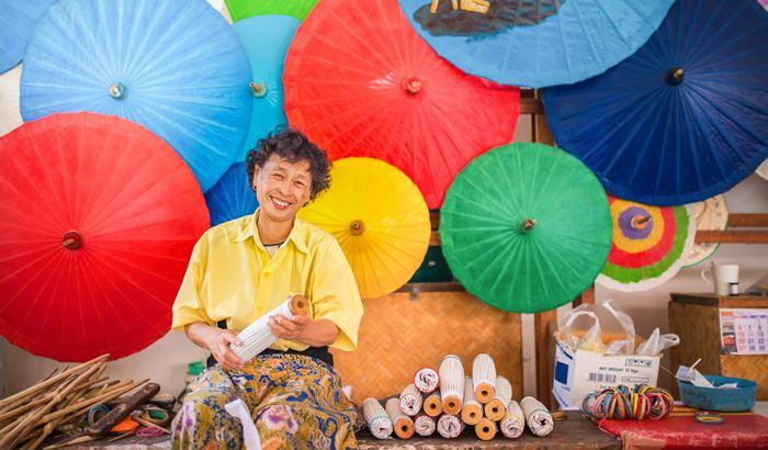 Bo Sang Thái Lan thiên đường của những chiếc ô