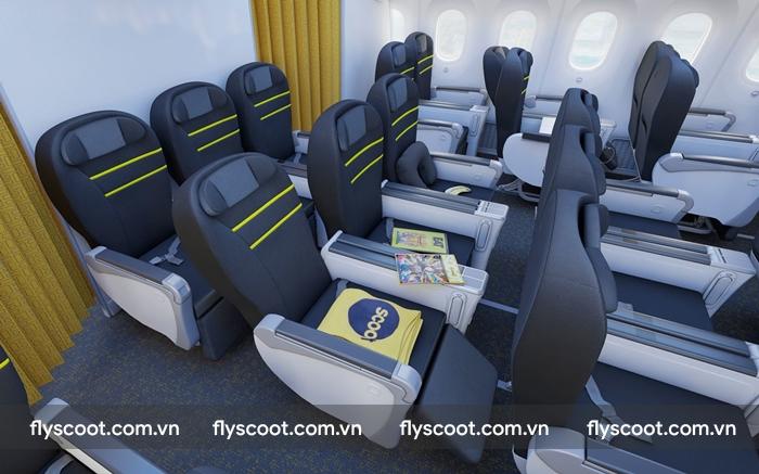 Du khách có thể thoải mái sử dụng thiết bị trên tàu bay 787 Dreamliners