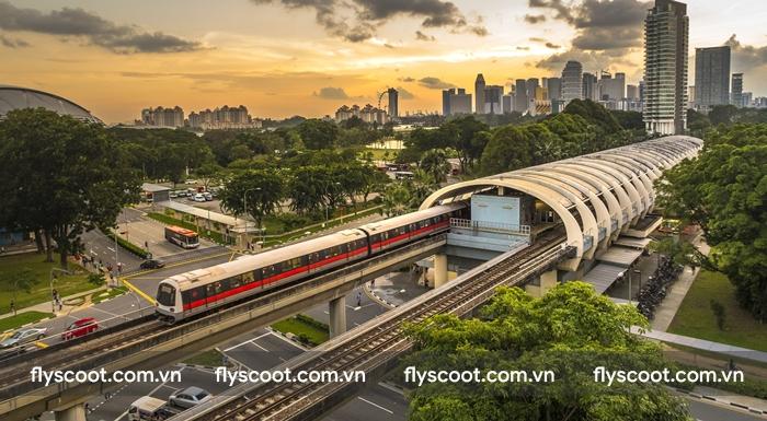 MRT, phương tiện phổ biến ở Singapore