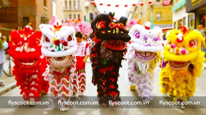 Đến Singapore đón năm mới xem các nghệ sĩ múa lân