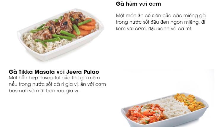 Bữa ăn nóng trên chuyến bay Scoot