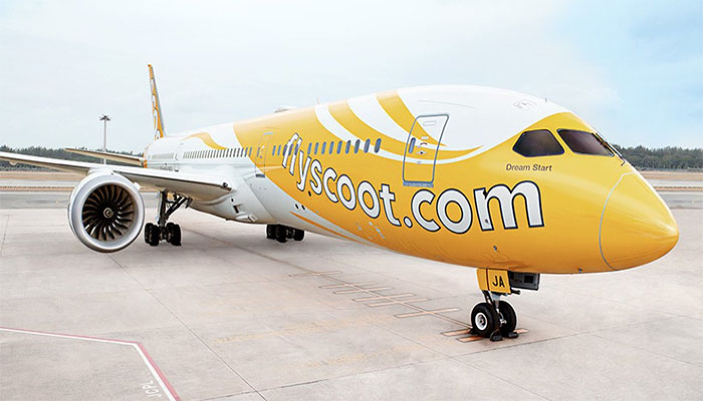 Sân bay Scoot Airlines